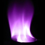 Purple Flame - 15 sec
