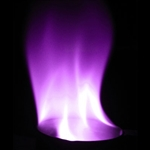 Purple Flame - 30 sec